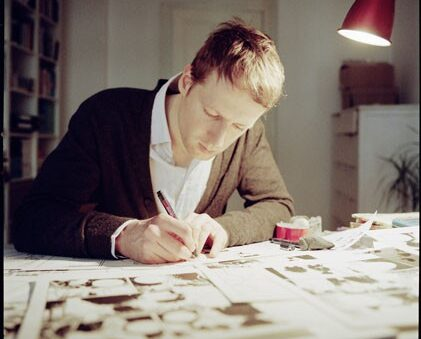 Arne Bellstorf, comic artist Europe, Germany, Hamburg 2009