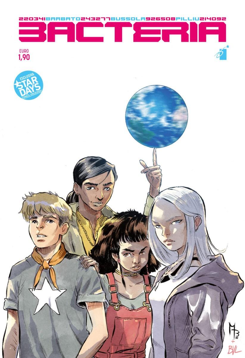 La cover del nuovo fumetto di Paola Barbato, Matteo Bussola e Emilio Pilliu