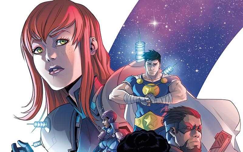 Steve Orlando's personal superhero multiverse