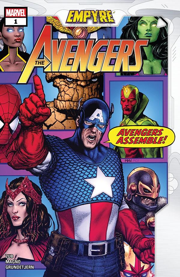 Empyre - Avengers (2020) 1