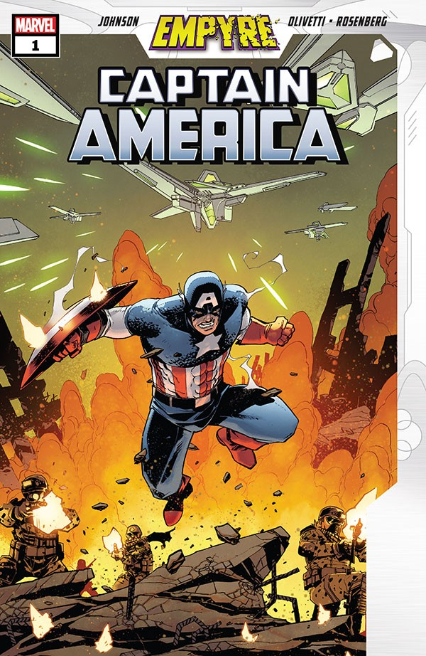 Empyre - Captain America 1