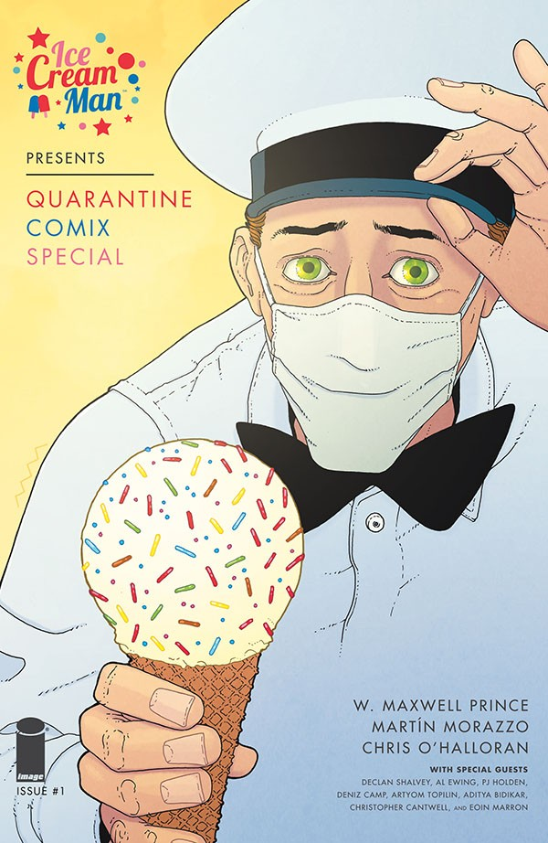 Ice Cream Man Presents - Quarantine Comix Special 1