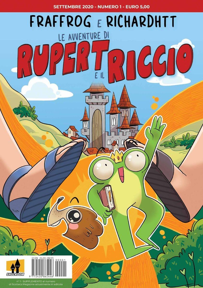 In edicola il primo numero di Le avventure di Rupert e il Riccio, il fumetto di Fraffrog e RichardHTT