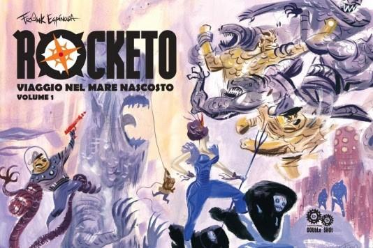 """Torna disponibile """"Rocketo"""", il fumetto cult di Frank Espinosa"""