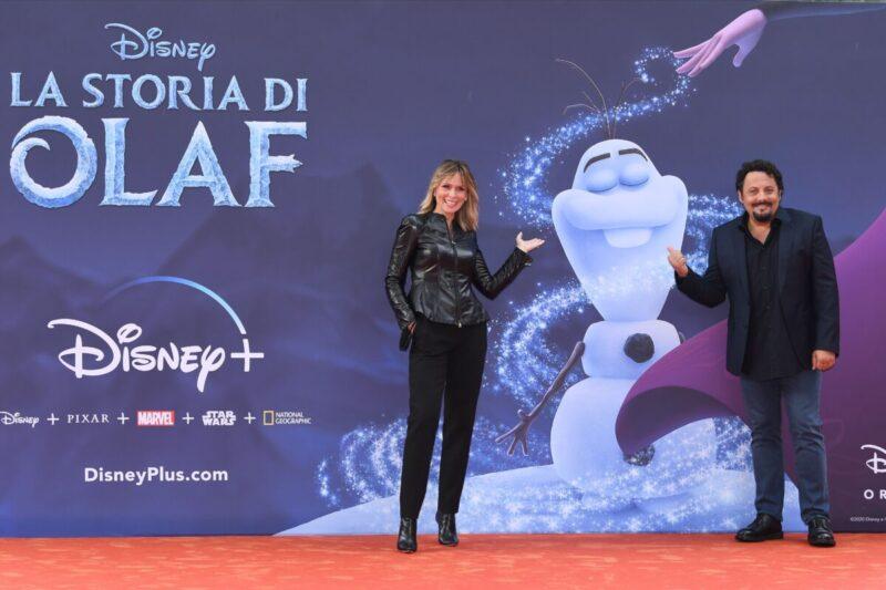 La storia di Olaf presentato ad Alice nella Città con Brignano e Autieri