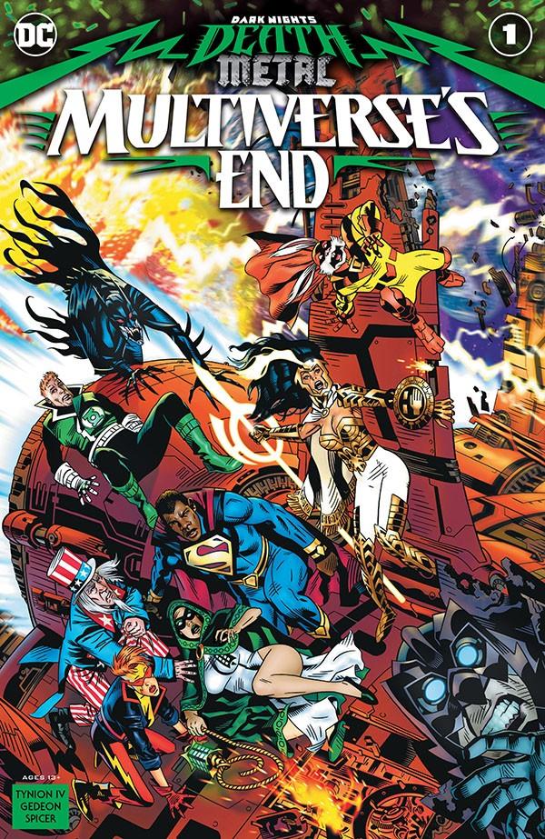 Dark Nights - Death Metal Metaverse's End