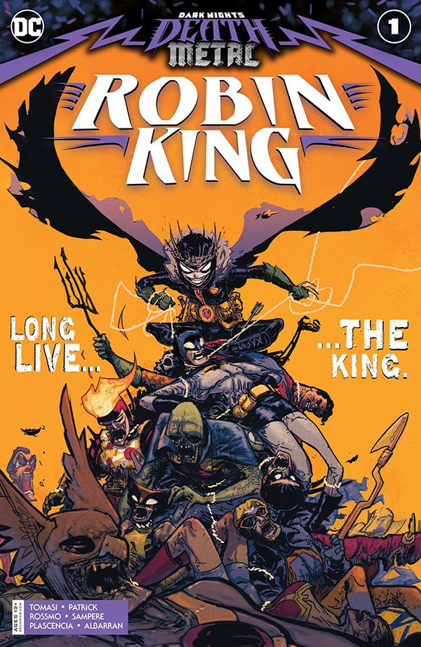 Dark Nights - Death Metal Robin King (2020)
