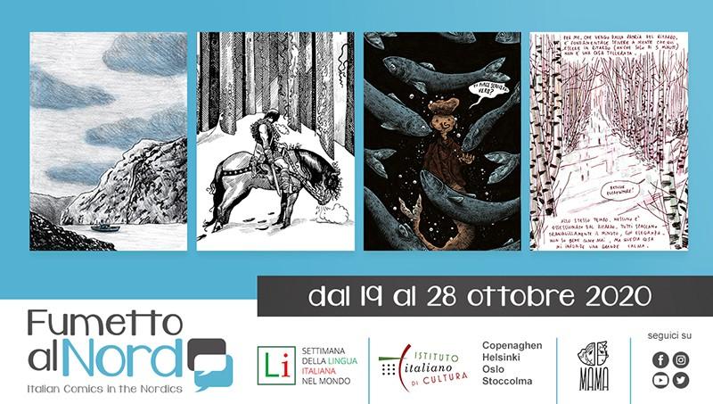 Fumetto al Nord. Italian Comics in the Nordics