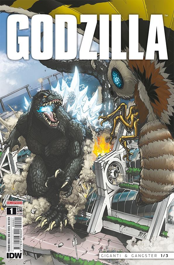 il primo numero del fumetto GODZILLA mensile  esce giovedì 29 ottobre
