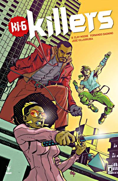 KI-6 Killers (Valiant-Star Comics)x sito