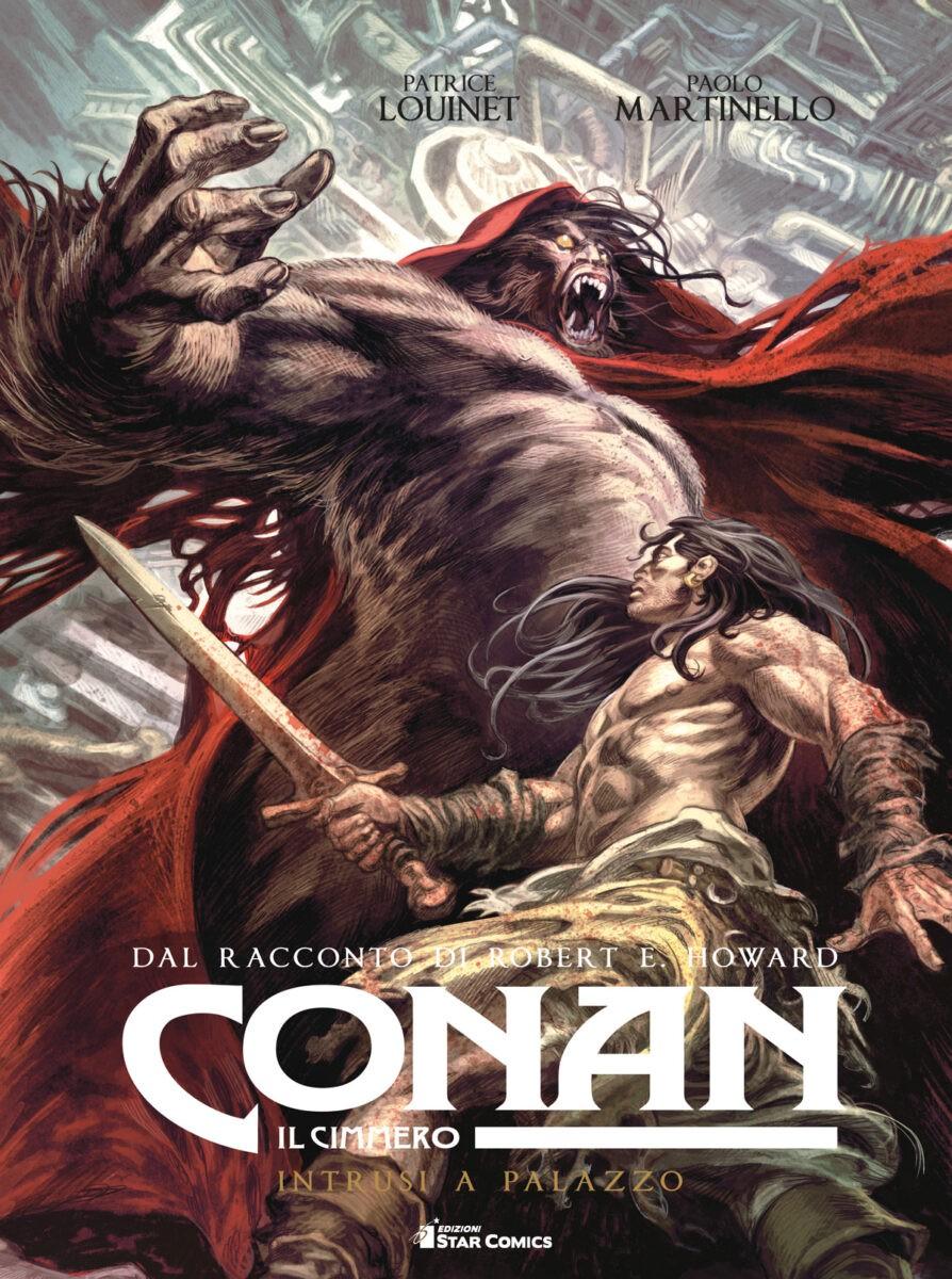 Conan il Cimmero – Intrusi a palazzo è il nuovo cartonato francese del barbaro