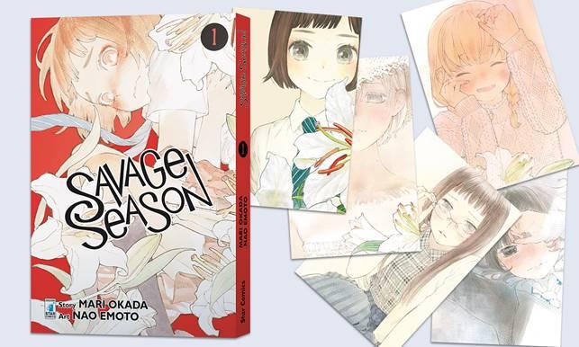 "Arriva il manga ""Savage Season"" di Mari Okada"