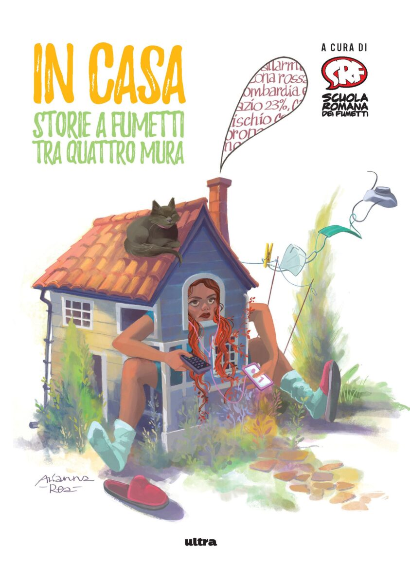 """In libreria per Edizioni Ultra """"In casa. Storie a fumetti tra quattro mura"""""""