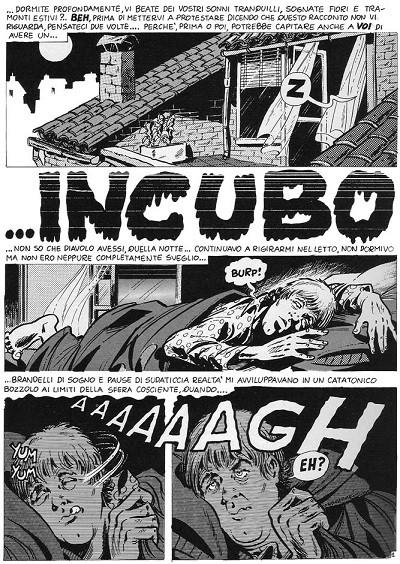 Incubo di Bonvi, pag1 (1970)