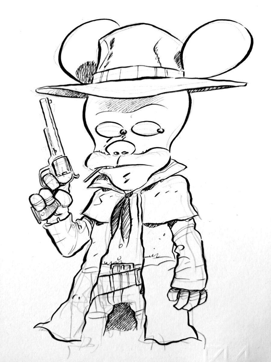 Nel 2021 arriva MATANA di Ortolani, una nuova saga a fumetti in salsa spaghetti western
