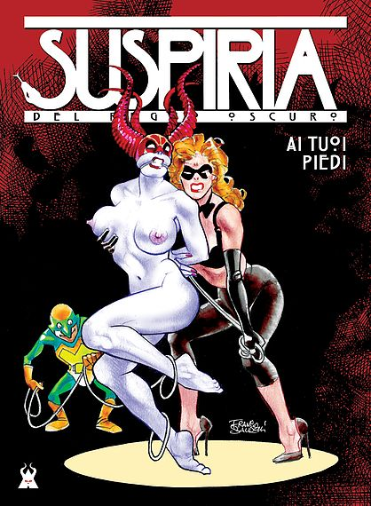 SUSPIRIA COVER FRANCO LIGHT