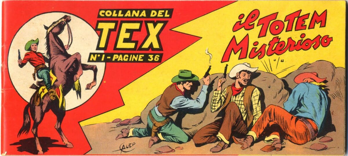 Tex 0001 - Il Totem Misterioso - 00