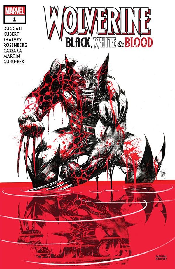 Wolverine - Black, White & Blood 1