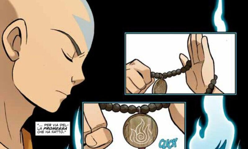 Avatar la promessa: un sequel a fumetti per la premiata serie animata.