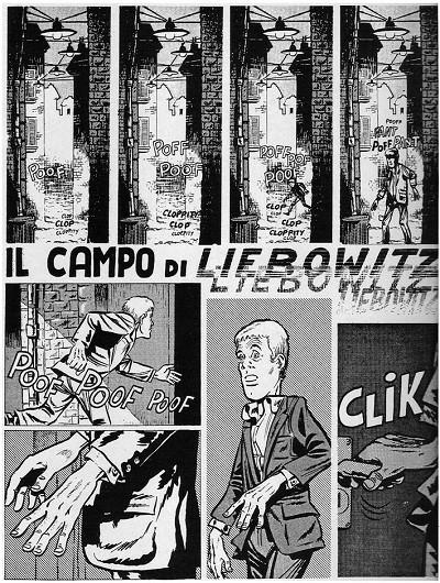 il Campo di Liebowitz di Bonvi, pag1 (1969)