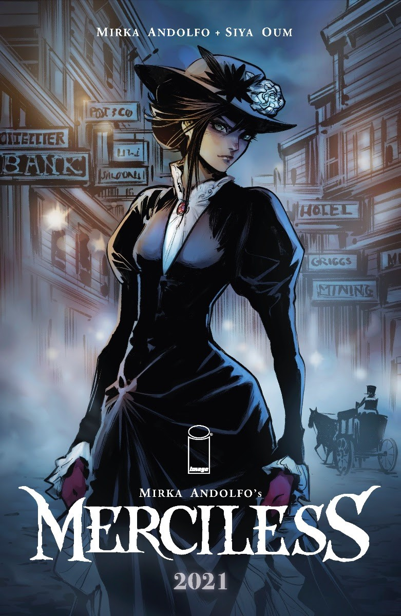 Nel 2021 Merciless, il sequel di Mercy, fumetto di Mirka Andolfo