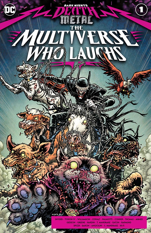 Dark Nights - Death Metal - The Multiverse Who Laughs