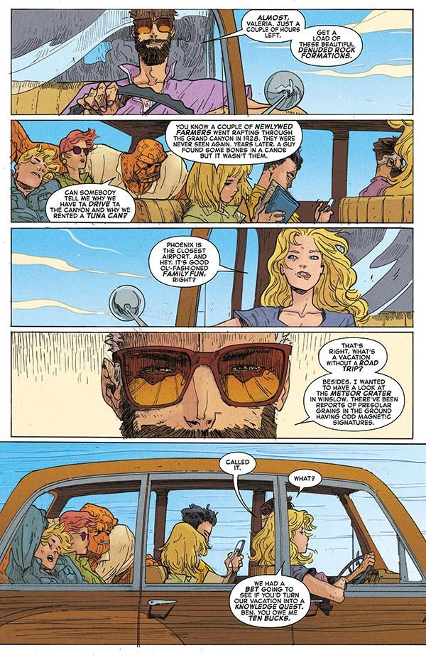 Fantastic Four - Road Trip (2020) 001-003