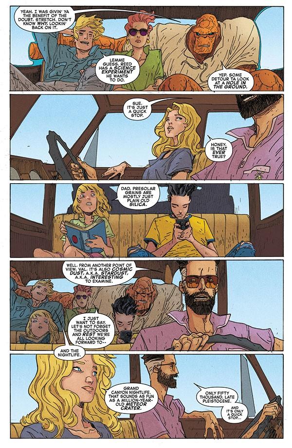 Fantastic Four - Road Trip (2020) 001-004
