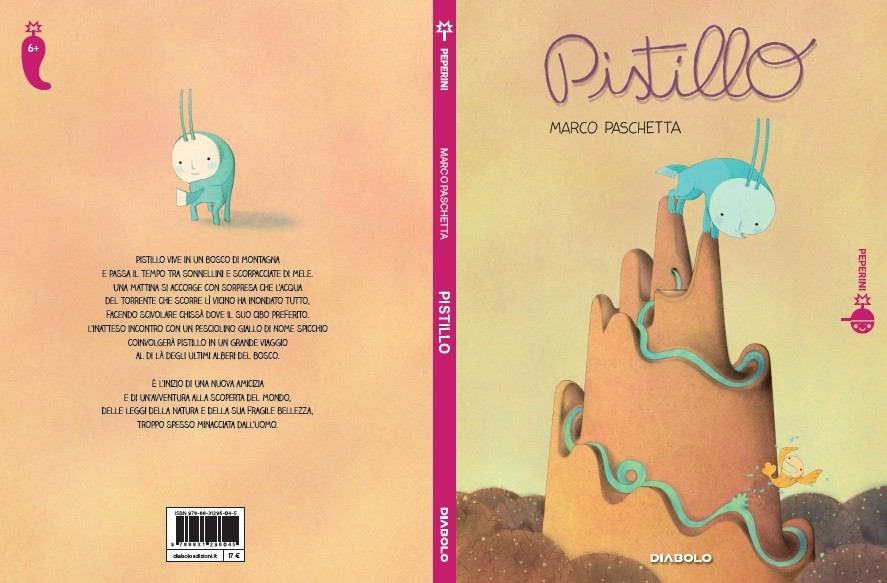 """""""Pistillo"""" di Marco Paschetta inaugura la collana a fumetti """"Peperini"""", ideata per giovani lettori"""