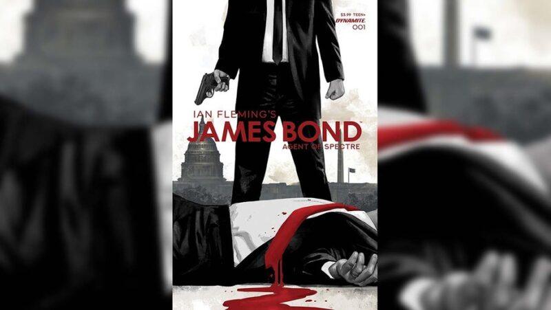 Dynamite lancia nel 2021 nuova serie a fumetti su James Bond