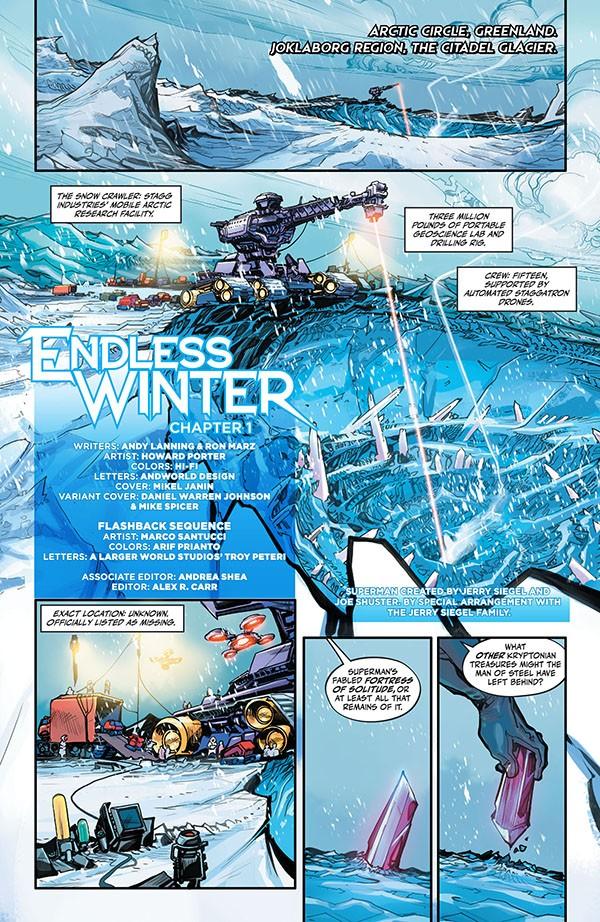 Justice League - Endless Winter (2020-) 001-002