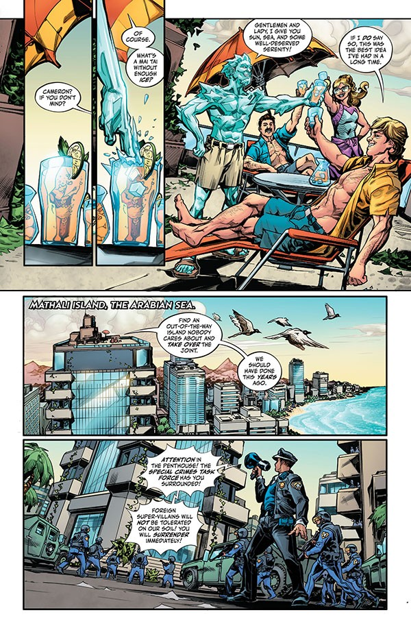 Justice League - Endless Winter (2020-) 001-003