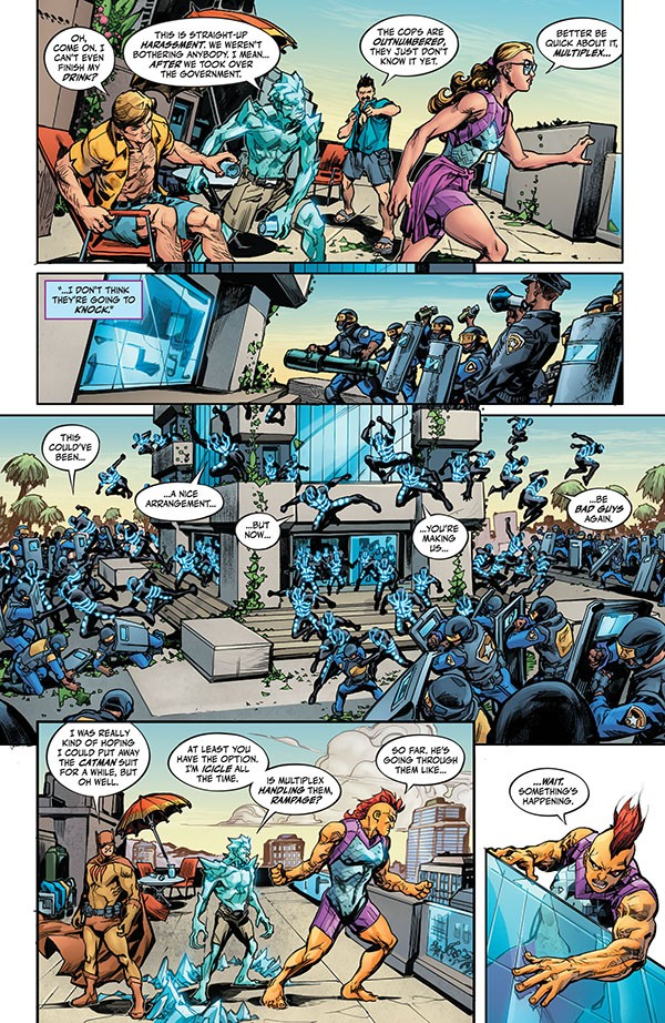 Justice League - Endless Winter (2020-) 001-004