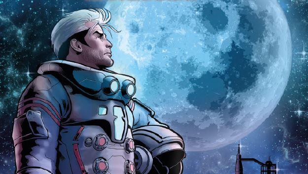 Sulla Luna con Nathan Never e l'Agenzia Spaziale italiana