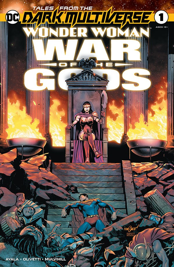 Tales from the Dark Multiverse- Wonder Woman - War of the Gods