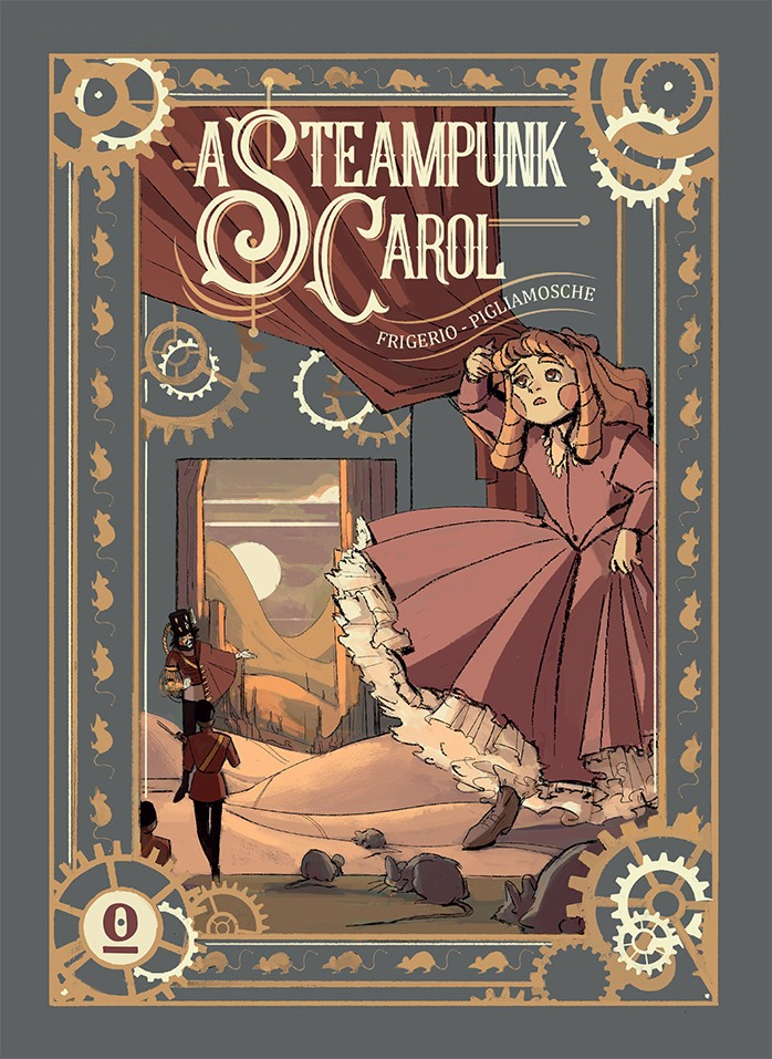 "Da Noise press arriva il fumetto ""A Steampunk Carol"""