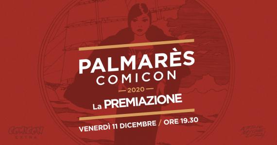 Comicon – Premiazione Palmarès 2020 – 11 dicembre, ore 19:30