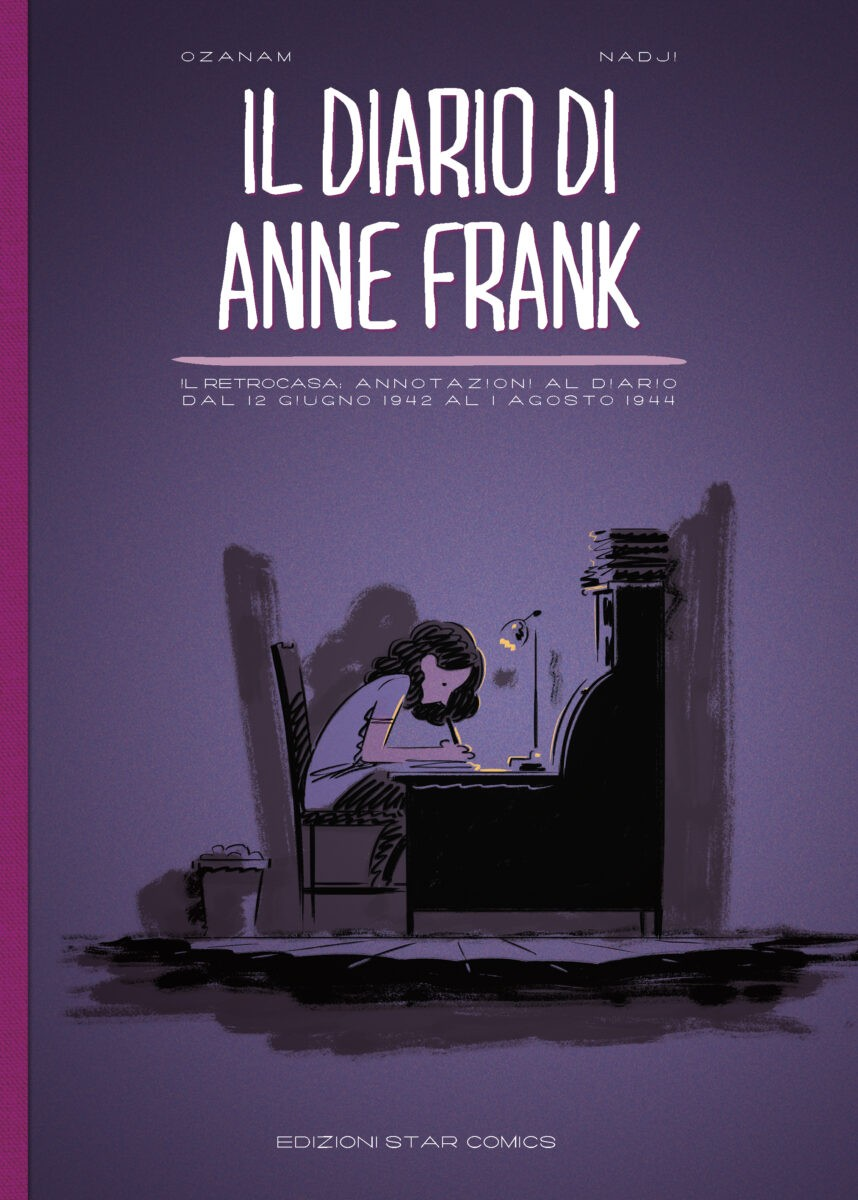 Una nuova graphic novel per ricordare la storia di Anne Frank