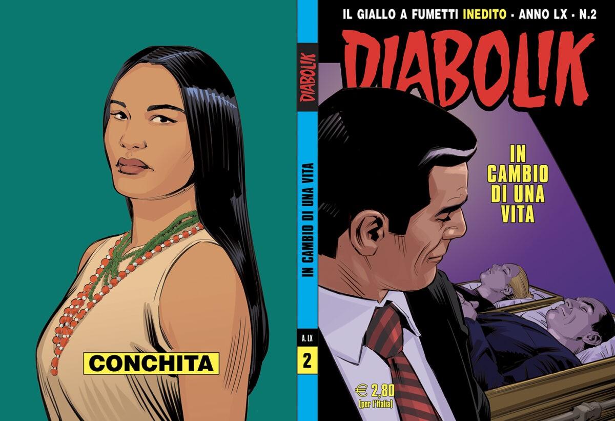 Tutti i fumetti di Diabolik in uscita a febbraio 2021