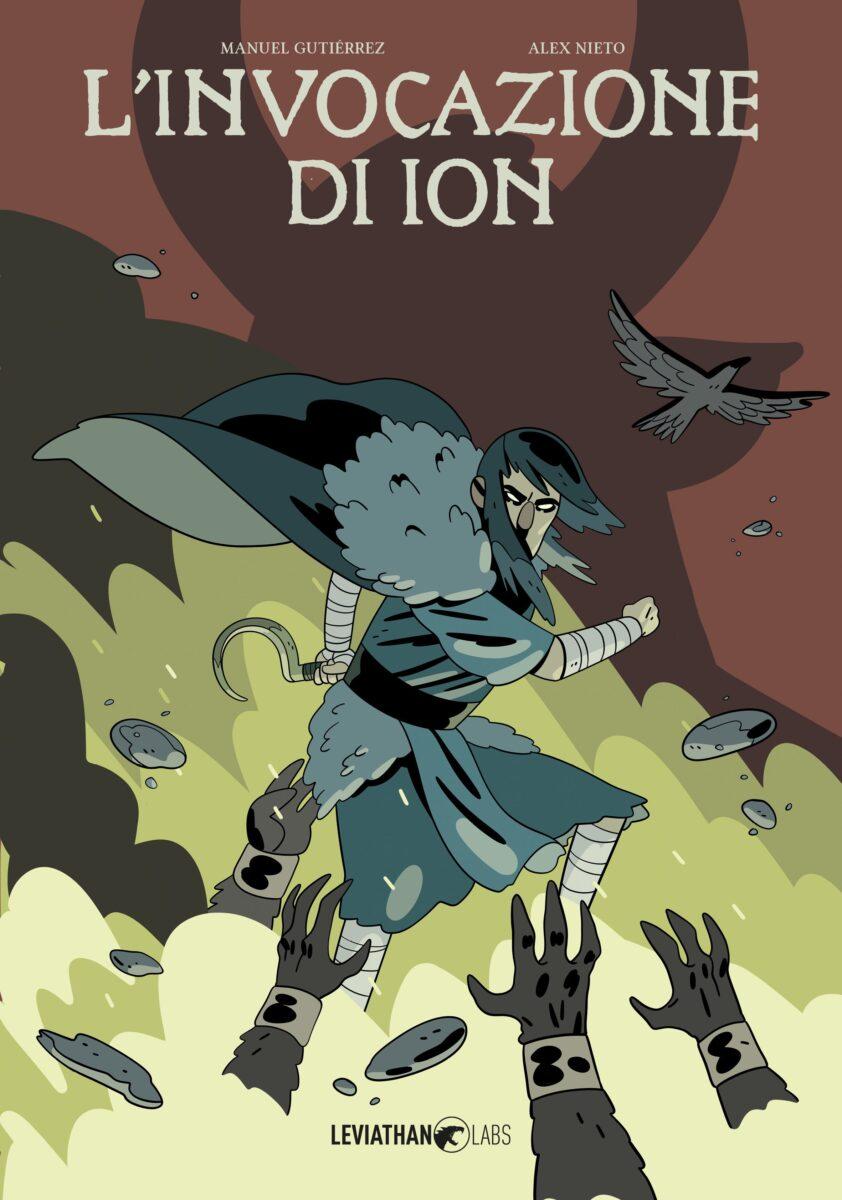 """""""L'invocazione di Ion"""" è il nuovo graphic novel della Leviathan Labs"""