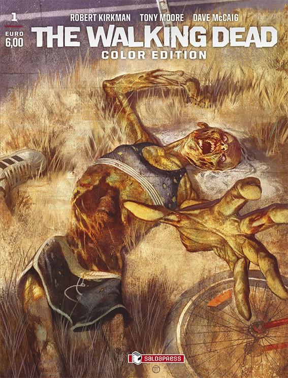 A marzo debutta la versione a colori di The Walking Dead, il fumetto creato da Robert Kirkman