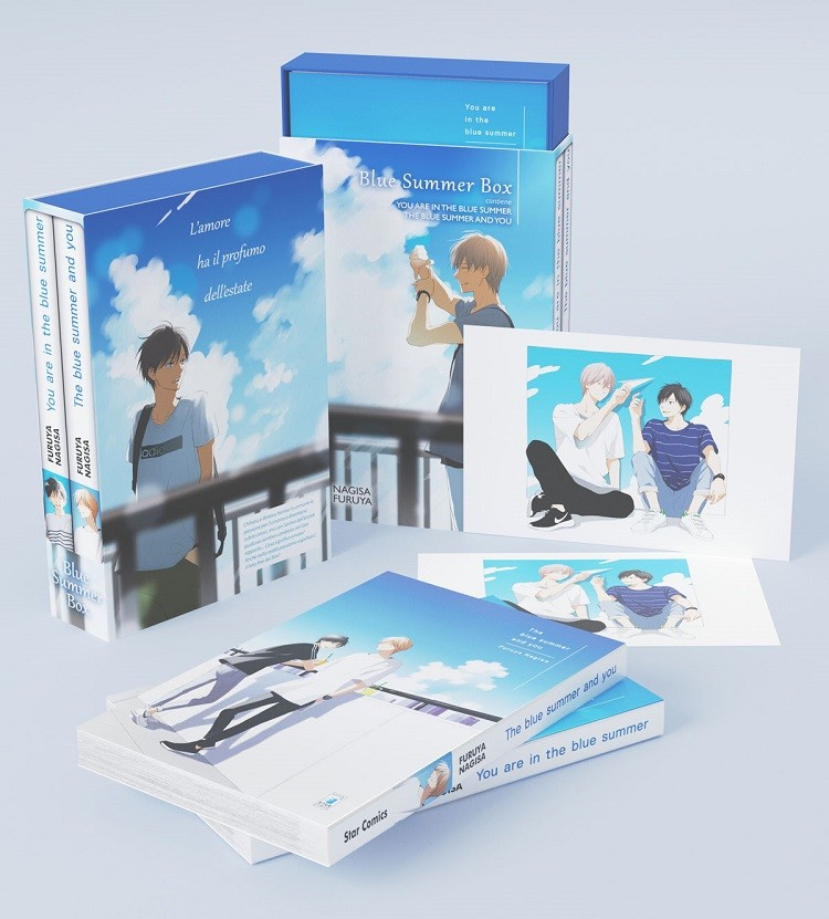 "Fumetti Star Comics: esce il box del manga ""Blue Summer Box"""