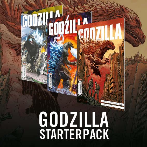 GODZILLA STARTER PACK: i primi tre numeri del fumetto di Godzilla