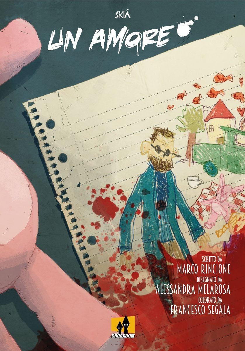 """Shockdom presenta la nuova graphic novel """"Un Amore"""" per la collana Skià"""