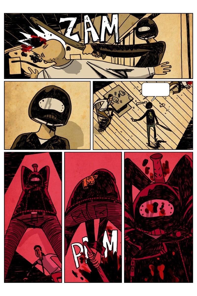 """Il fumetto """"Street Tiger"""" arriva in Italia per Leviathan Labs"""