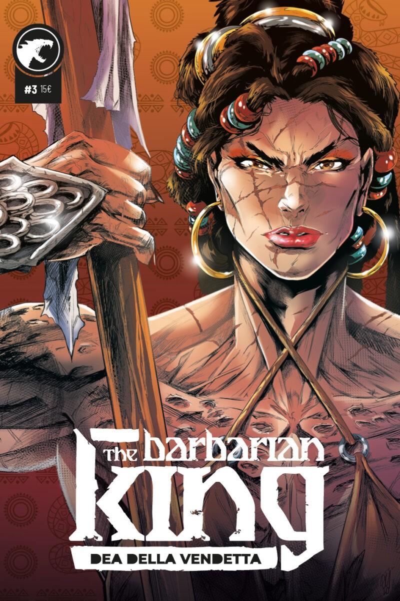 """""""Dea della vendetta"""" è il terzo volume a fumetti del Conan della Leviathan Labs"""