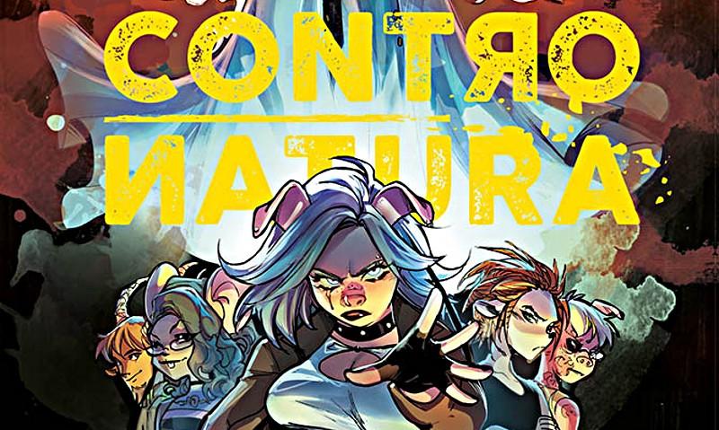 Fumetti Panini Comics: esce Contronatura Omnibus