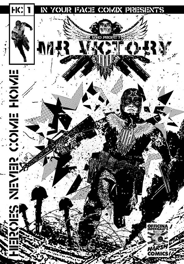 Harsh Comics #1 - Mr Victory