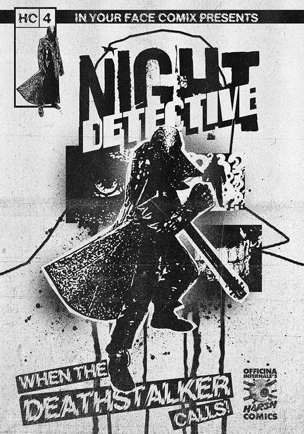 Harsh Comics #4 - Night Detective