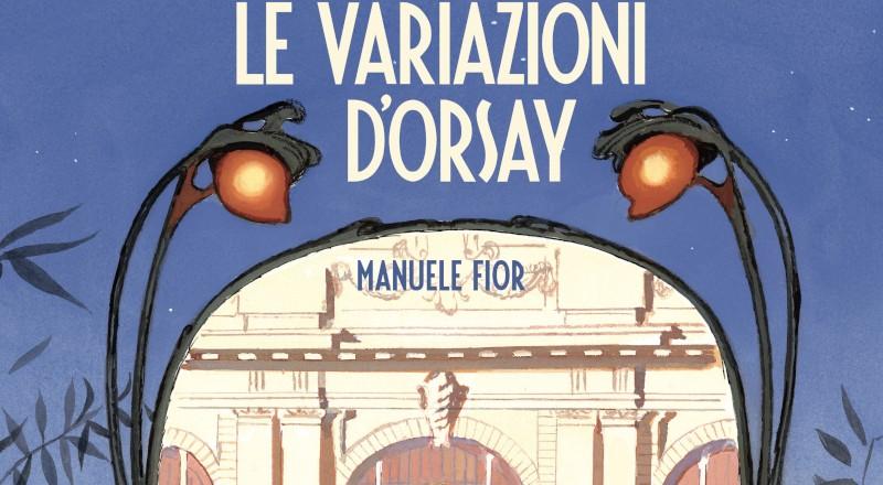 Oblomov pubblica il fumetto Le Variazioni D'Orsay di Manuele Fior